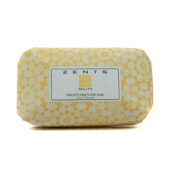 - Zents Luxe Soap, Sun, With Organic Shea Butter and Neem Oil, 5.7 oz/163 g