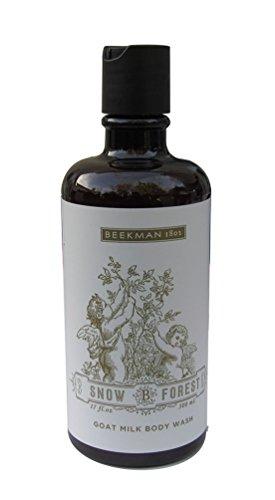 Fl Oz Body Wash (Beekman 1802 Snow B Forest Goat Milk Body Wash 17 fl. oz 500 ml)