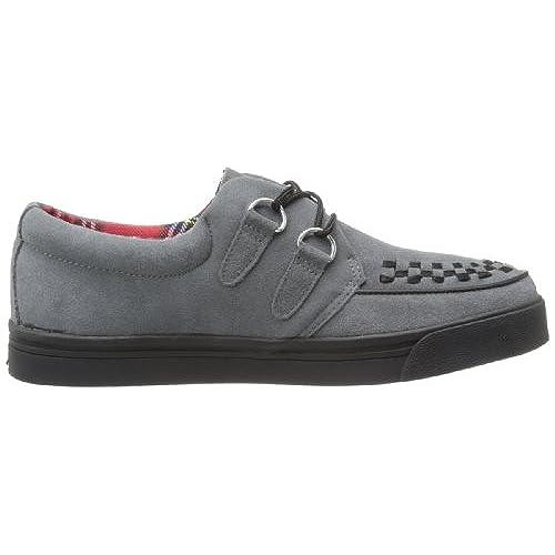 Unisex A7691 Fashion Creeper Sneaker,Grey,10 M US T.U.K.