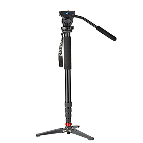 DIGIPOD A-3205VH Professional Aluminum 80inch Fluid Video Monopod with Video Head by Digipod