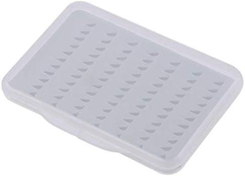 LMQ-YUXIANG, Caja de pesca con mosca Caja de almacenamiento de pesca con mosca de doble