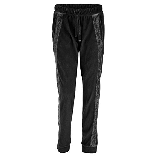 Freddy Di Cool Paillettes Dyed Fasce Con Black Velluto Lungo Pantalone In pYngxrpB