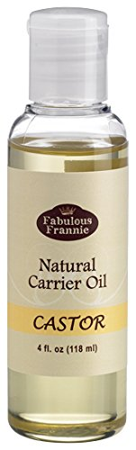 Castor 4oz Carrier Oil Base Oil for Aromatherapy, Essential Oil or Massage