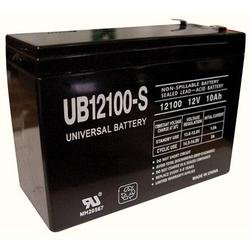 Universal Power Group 12V 10AH Currie Phat Flyer Scooter Battery ()