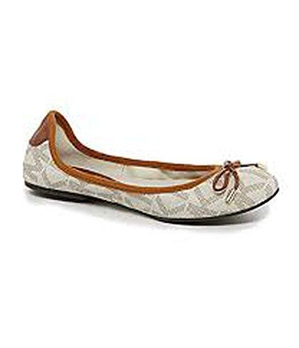 ac1cde76f48e Michael Michael Kors Mk City Ballet Flats in Vanilla Size 10 - Buy Online  in Oman.