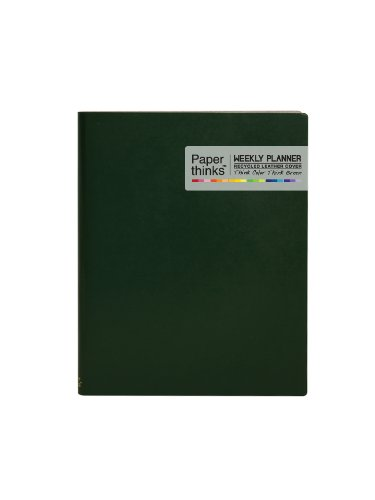 paperthinks-deep-olive-extra-large-2014-recycled-leather-weekly-planner-7-x-9-inches