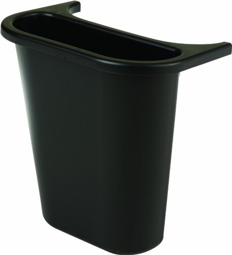 (RCP295073BLA - Saddle Basket Recycling Bin, Rectangular, Black, 7 1/4quot;w X 10 3/5quot;d X 11 1/2quot;h )