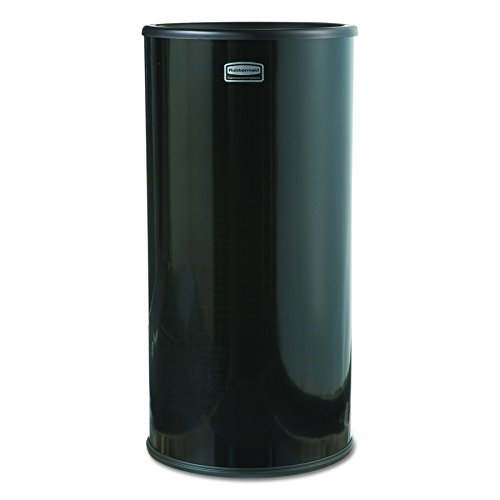 Rubbermaid Commercial FG1000EBK Steel Smoking Urn, Round, 20-inches Height, (Sand Urn Ashtray)