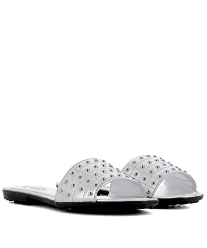 Silver Sandals Women's Leather Tod's XXW00V0Y400NPPB200 WnHaxwxEq