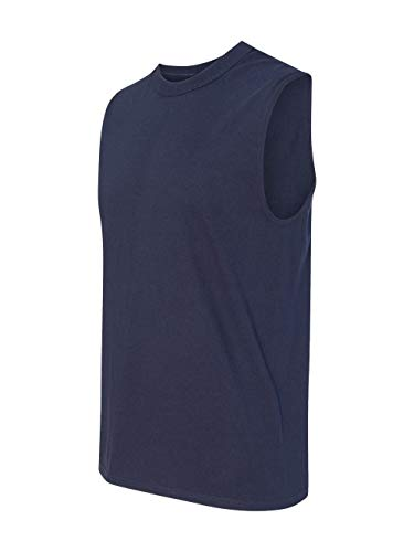 Jerzees Men's Advance Performance Sleeveless T-Shirt_J Navy_Xx-Large