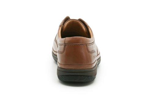 Clarks Swift Mile Mahogany Leather 13 UK H / 48 EU