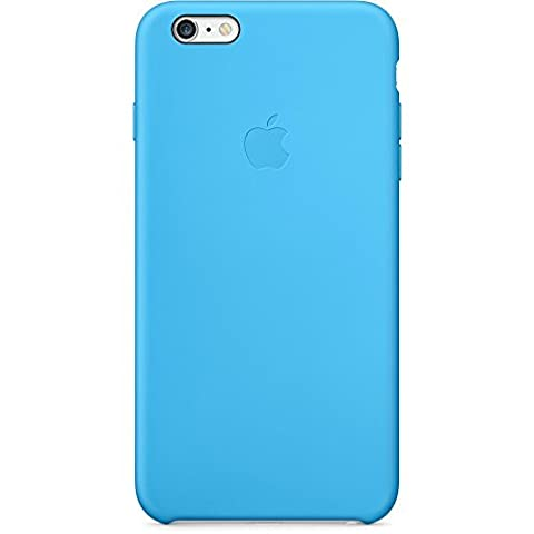 Apple Cell Phone Case for iPhone 6 Plus & 6s Plus Only - Retail Packaging - Blue (Apple Cell Phones 6 Plus)