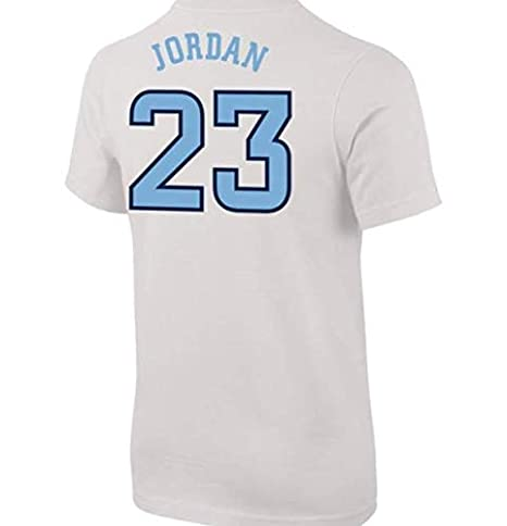 ba938ae6f99 Amazon.com  Jordan Youth North Carolina Tar Heels Michael 23 Future Star Replica  Basketball Jersey White T-Shirt  Clothing