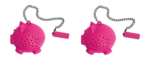 Tovolo Silicone Tea Infuser - Pig, Set of 2 by Tovolo