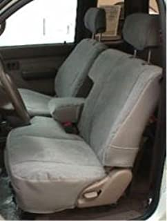 Durafit Seat Covers, T772 Bull Rush Camo Toyota Tacoma Xcab Front 60/40