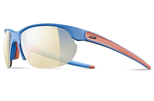 Julbo Breeze Sunglasses - Zebra Light - Matte Blue/Coral by Julbo