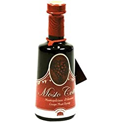 Montepulciano D'abruzzo Grape Artisanal Vinegar Syrup 8.8 Oz