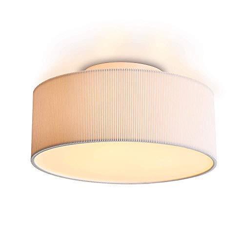 Lámpara de techo circular moderna con pantalla, Lámpara LED ...