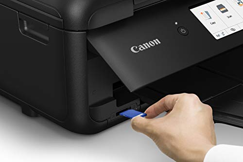 Canon PIXMA TS9520 Wireless Photo All In one Printer | Scanner | Copier | Mobile Printing with AirPrint and Google Cloud Print, Black by Canon (Image #3)