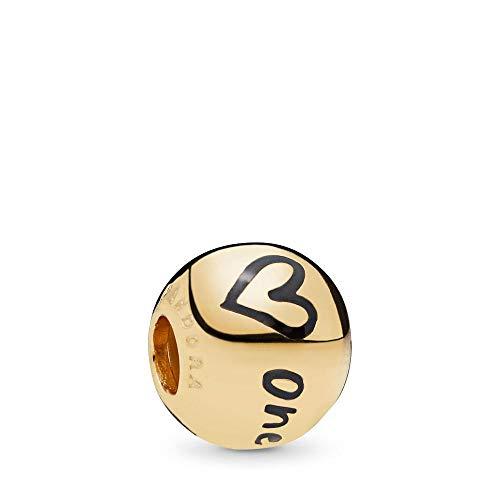 PANDORA True Uniqueness 18k Gold Plated PANDORA Shine Collection Charm - 767775EN16 (Pandora Chicago Charm)