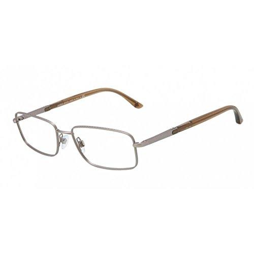 Giorgio Armani AR5006 3005 Matte Chrome Full Rim Rectangular Eyeglasses Frames
