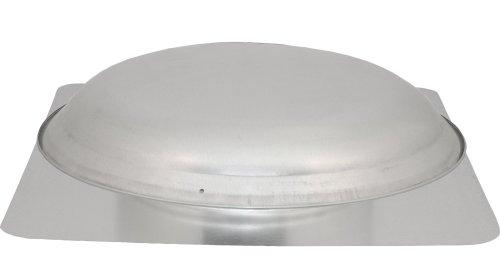 Power Attic Roof Mount Ventilator with 3.4-Amp 60-Hz Motor and Steel Flange, Galvanized Steel Dome (Mount Power Attic Ventilator)
