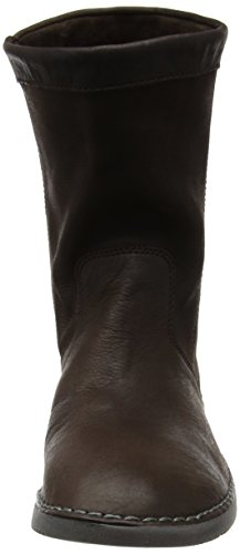 Brown Leather Chukka marrone Boots Til402sof Donna Smooth dk 009 Softinos 8FxvAqZ