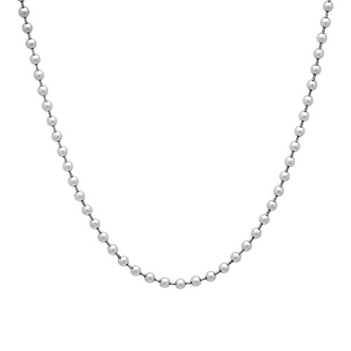 steel ball necklace - 4