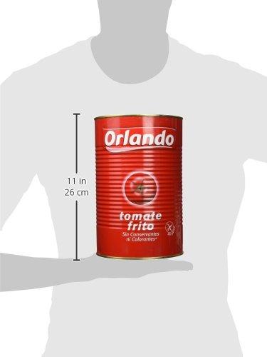 Orlando tomate frito clásicolata 4, 1 kg: Amazon.es: Alimentación y bebidas