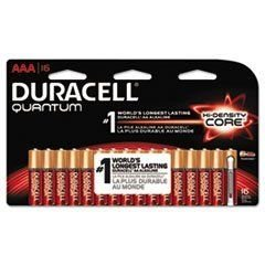 Price comparison product image Duracell BATTERY, ALKALINE, AAA, 16PK