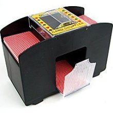 Laser Sports Casino Deluxe Automatic 4 Deck Card Shuffler