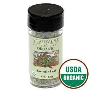 f Jar 0.42 Oz - Starwest Botanicals (Organic Tarragon Leaf)