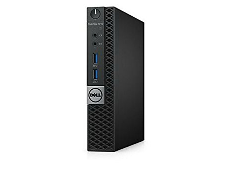 Dell OptiPlex 7040 Micro Tower, Intel Core i7-6700T, 8 GB RAM, 256 GB SSD, Windows 10 Pro, WIFI, 3 Year Manufacturer Warranty (Certified Refurbished)