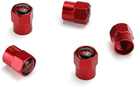 Automelody Set Of 4 Tire Stems valves caps covers for gmc