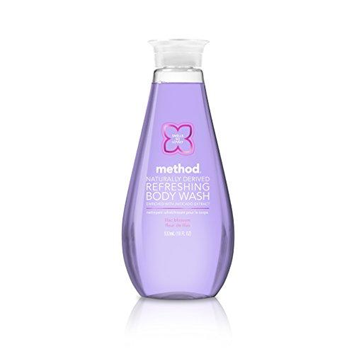 Method Refreshing Body Wash, Lilac Blossom, 18 Ounce