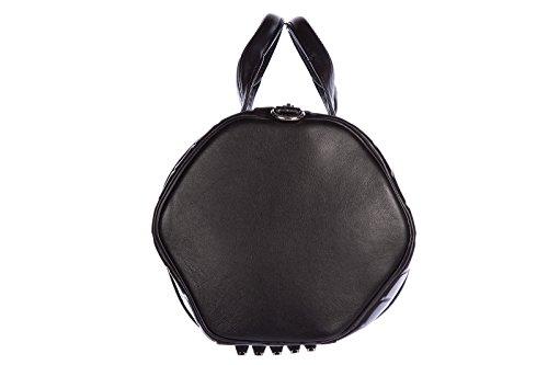 Alexander Wang sac à main femme en cuir tonneau vintage studs noir
