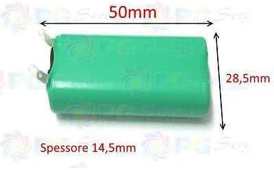 Rowenta Batería BYD H-AA 1000 mAh 2,4 V para afeitadora Wet & Dry ...