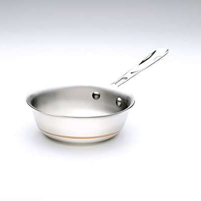 All-Clad 6212 SS Copper Core 5-Ply Bonded Dishwasher Safe Saucier Pan with Lid / Cookware