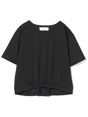 (빔스 rights)BEAMS LIGHTS/T셔츠 손세탁 가능  (pullover)풀오버 레이디스 (블랙/ 화이트)