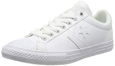 converse star player ox mujer blancas