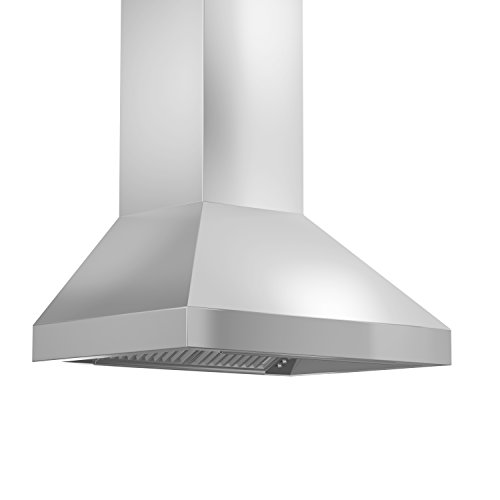 Z Line 597-RD-30 1200 CFM Wall Mount Range Hood with Remote Dual Blower, 30