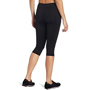 Champion Absolute Workout Knee Capris Womens Large (Black)
