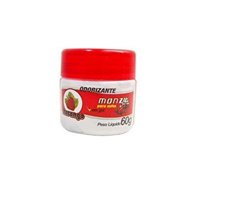 Monza Odorizante Em Gel Para Auto Aroma Morango 60G