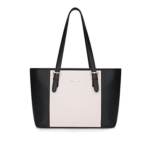 E-girl Shoulder Bag Womens Plastic One Size Schwarz & Weiß