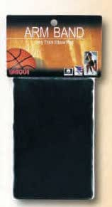 Unique Sports Triple Thick Basketball Armbands, Elbow Pad-Sweatband-Black