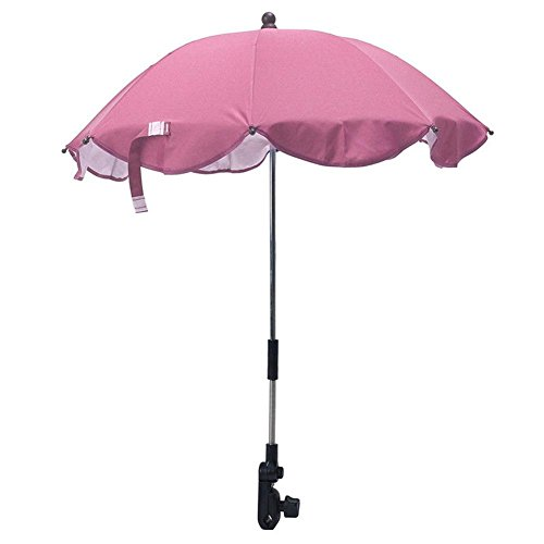 gentman Kids Baby Stretchable Sun Umbrella Parasol Buggy Pushchair Pram Stroller Chair Umbrella by gentman