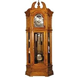ACME 01410 Filmour Grandfather Clock, Oak Finish
