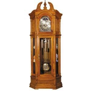 ACME 01410 Rissa Grandfather Clock, Oak Finish by ACME