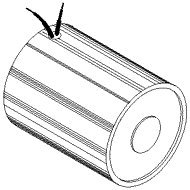MSS Electromagnet, Tubular, 12.0 Volts DC Continuous Duty, 1.50'' (38 mm) DIA X 2.15'' (55 mm) L - Made in USA