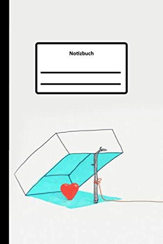 Notizbuch: Herzen fangen | Notizbuch liniert | Schreibheft Für Notizen | Tagebuch | Tagesplaner | Terminkalender | Reisetagebuch | Schreibheft Für ... 100 Seiten (ca. DIN A5) (German Edition) (Schöne Herzen)